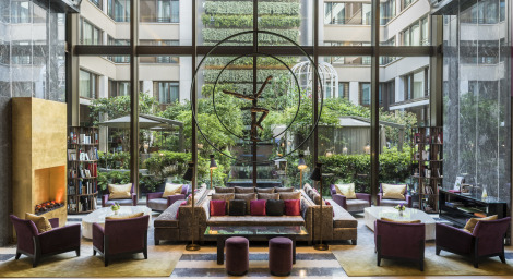 Paris hotels luxe