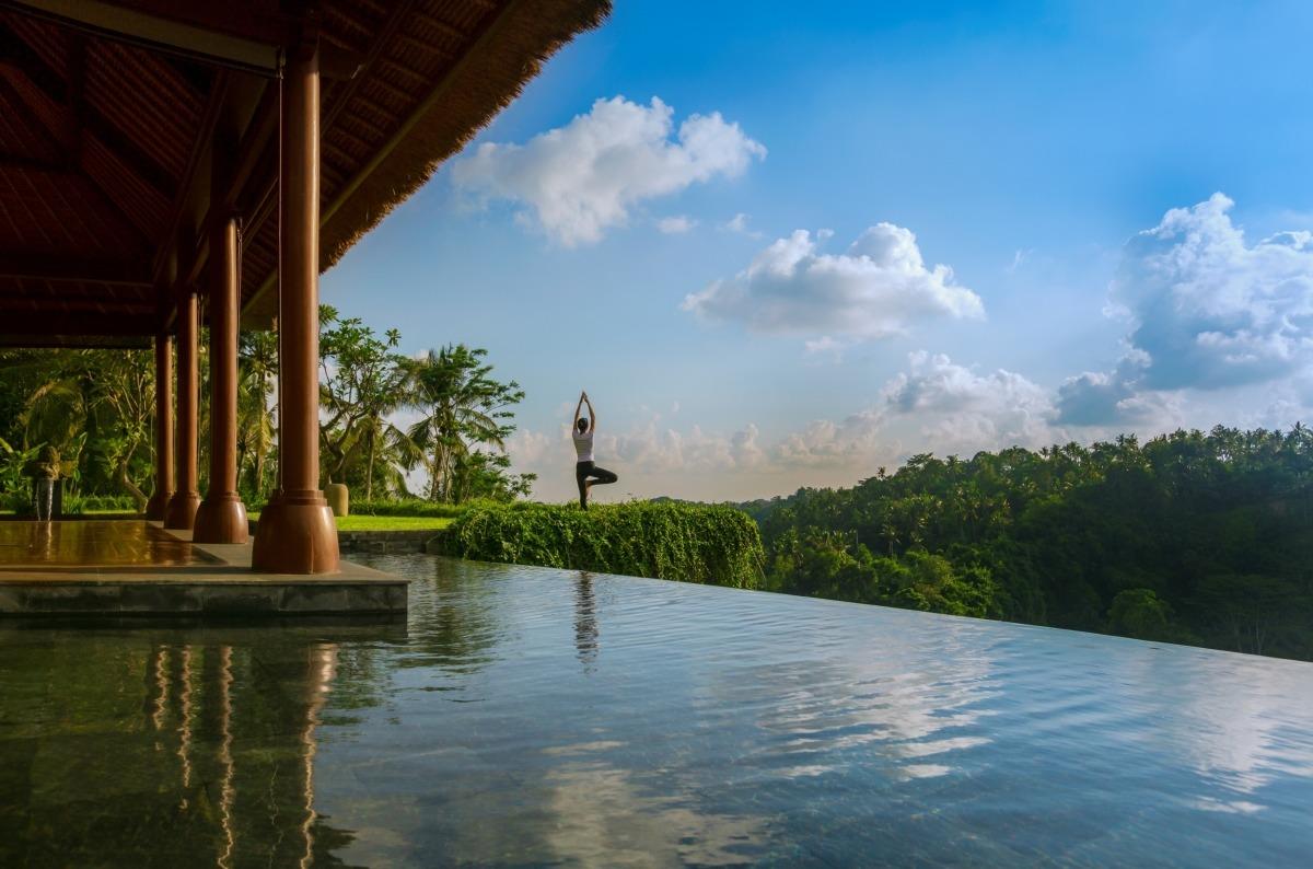 Hotel Mandapa RitzCarlton, Bali, Indonesia