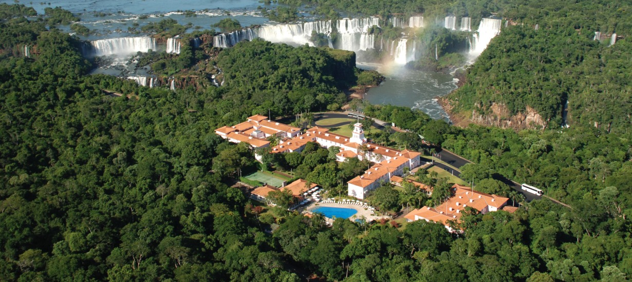 It doesn't get better than the Belmond Hotel das Cataratas