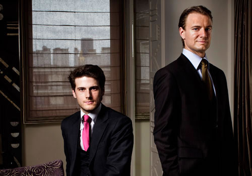 Rouslan Lartisien & Ivan Lartisien, Co-founders of Grand Luxury Hotels